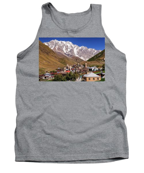 Ushguli And  Shkhara Mount Tank Top