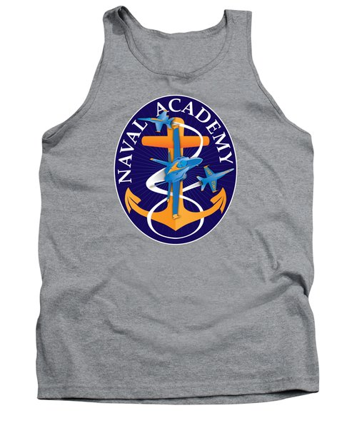 Usna Anchors Aweigh Fouled Anchor Tank Top