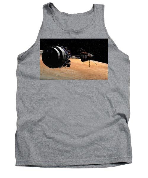 Uss Hermes 1 In Orbit Tank Top