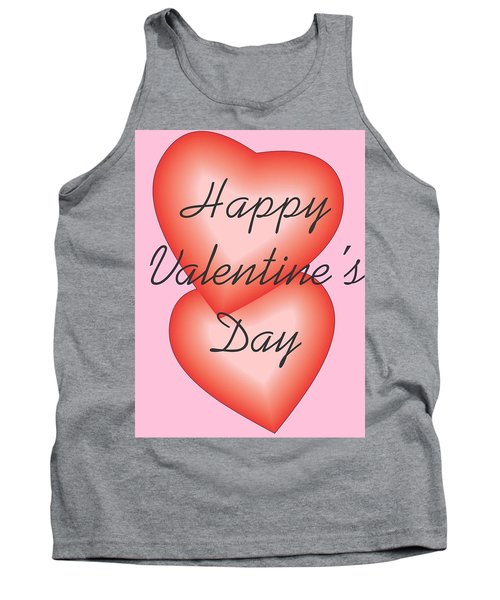 Valentine Hearts Tank Top by Sherril Porter