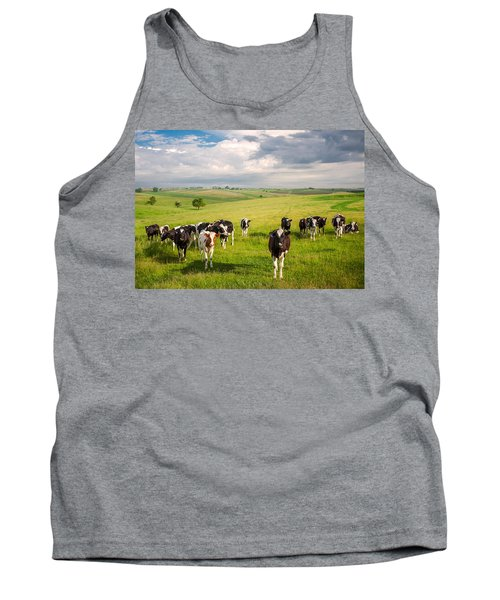 Valley Of The Cows Tank Top
