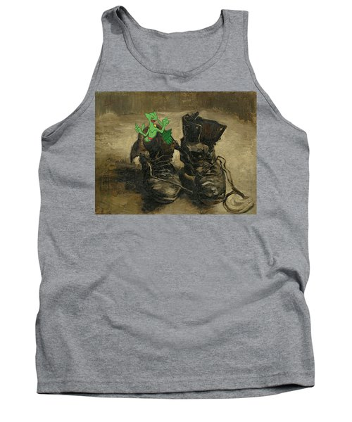 Tank Top featuring the digital art Van Septilegogh by Greg Sharpe