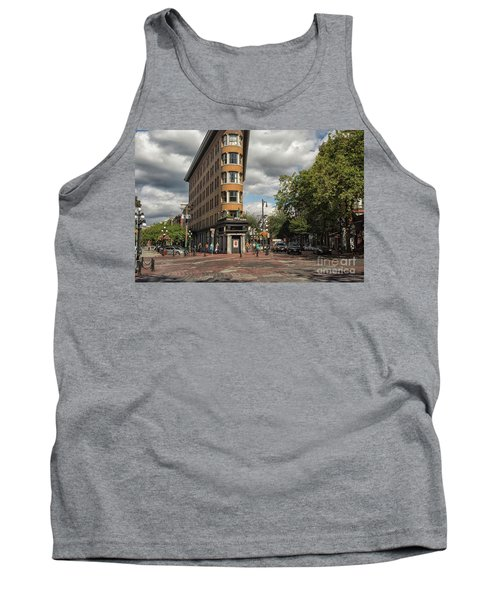 Vancouver City Life Tank Top by Patricia Hofmeester