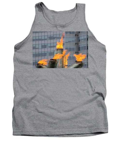Vancouver Olympic Cauldron 2 Tank Top by Ross G Strachan
