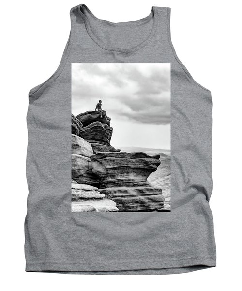 Tank Top featuring the photograph Vantage Point by Nick Bywater