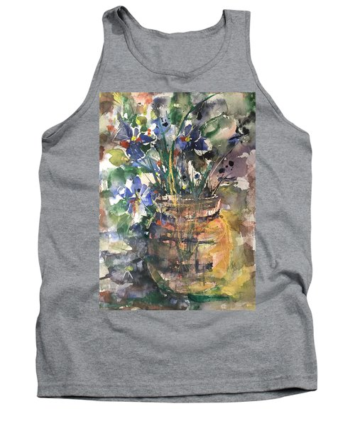 Vase Of Many Colors Tank Top by Robin Miller-Bookhout