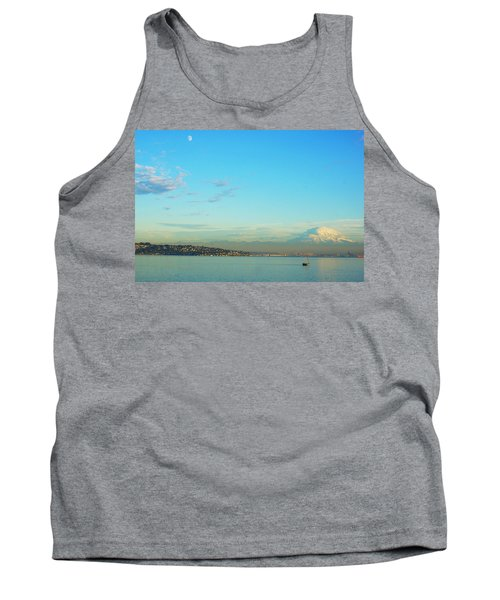Tank Top featuring the photograph Vashon Island by Angi Parks