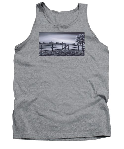 Tank Top featuring the painting Vegetable Plot by Kenneth Clarke
