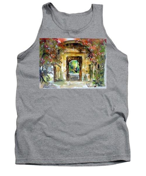 Venetian Gardens Tank Top