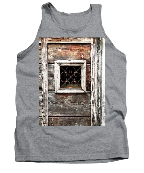 Venetian Window Tank Top
