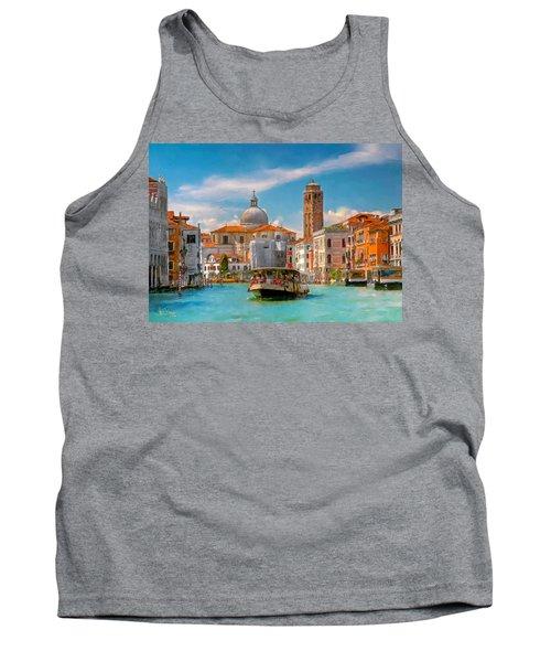 Venezia. Fermata San Marcuola Tank Top
