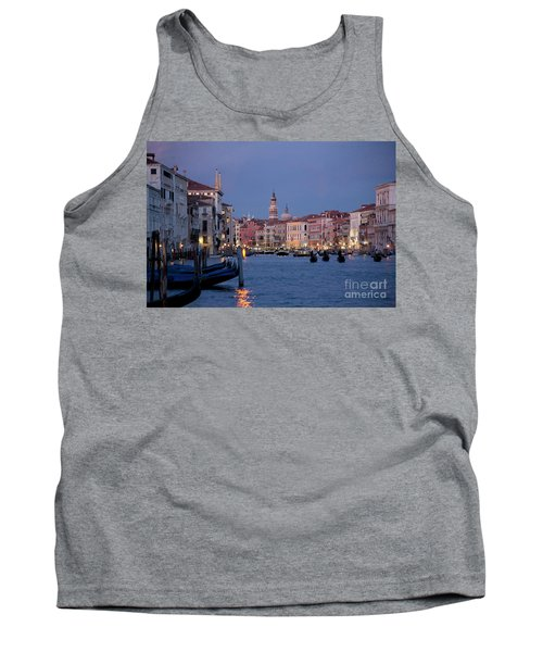 Venice Blue Hour 2 Tank Top