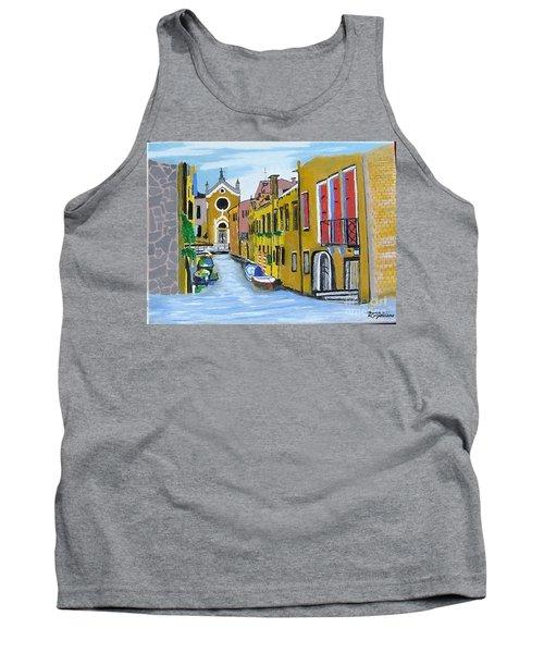 Venice In September Tank Top by Rod Jellison
