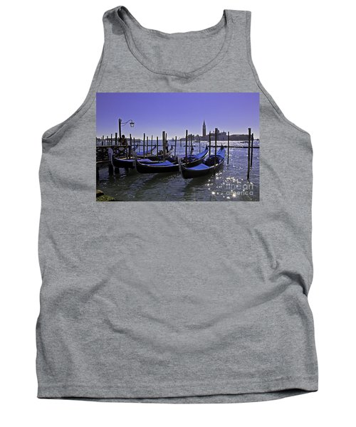 Venice Is A Magical Place Tank Top by Madeline Ellis