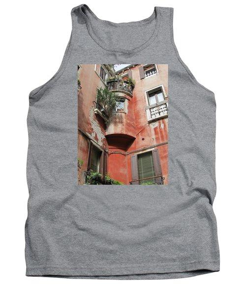 Venice Italy Street Tank Top by Lisa Boyd