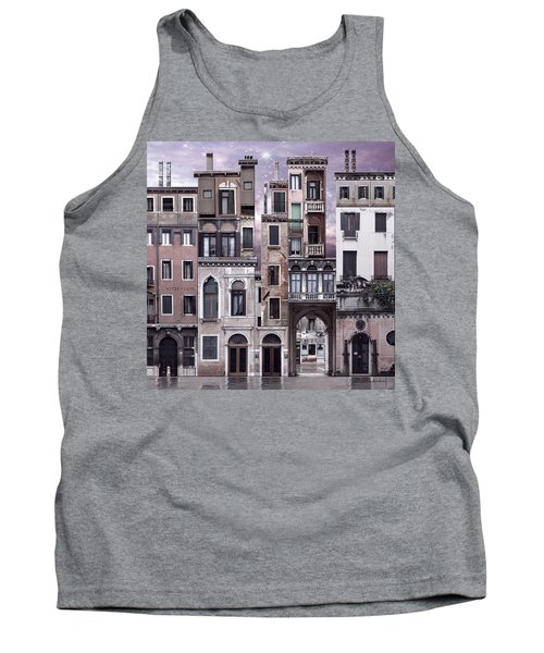 Venice Reconstruction 1 Tank Top by Joan Ladendorf