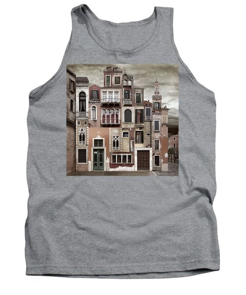 Venice Reconstruction 2 Tank Top by Joan Ladendorf