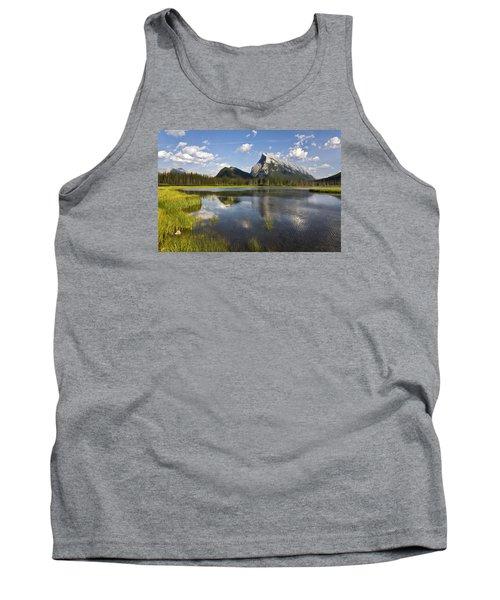 Vermillion Lake And Sulpher Mountain Tank Top