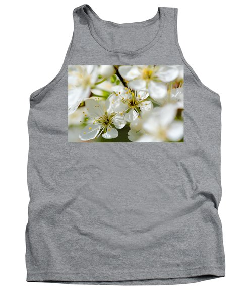 Vermont Apple Blossoms Tank Top
