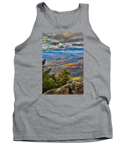 Vermont Foliage From Mt. Ascutney Tank Top