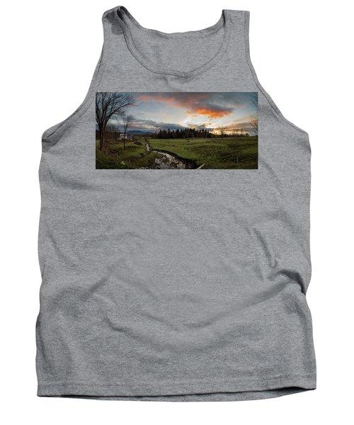 Vermont Sunset Tank Top