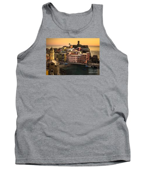 Vernazza At Sunset Tank Top