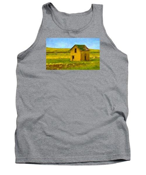 Very Little House Tank Top by Susan Crossman Buscho