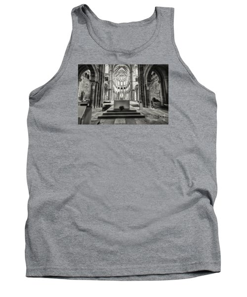 Tank Top featuring the photograph Vezelay Basilica France by Jack Torcello