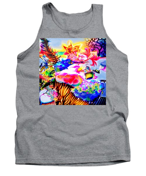 Tank Top featuring the photograph Vibe Vase by Adria Trail