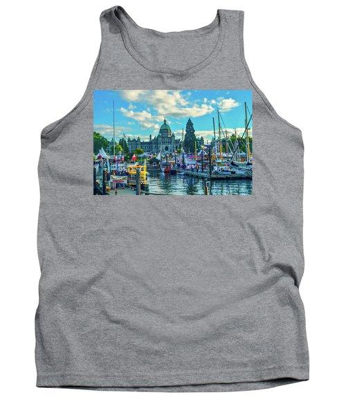 Victoria Harbor Boat Festival Tank Top