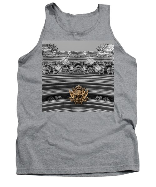 Victoria Tower Low Angle London Tank Top