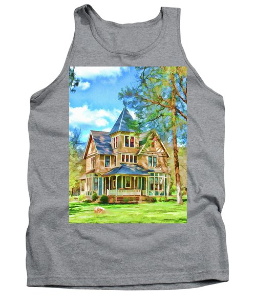 Tank Top featuring the photograph Victorian Painting by Wendy McKennon