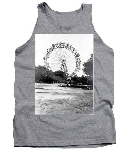 Viennese Giant Wheel Tank Top
