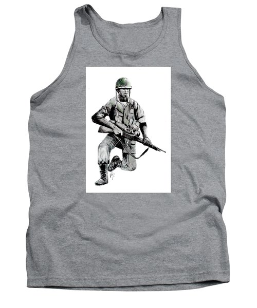 Vietnam Infantry Man Tank Top