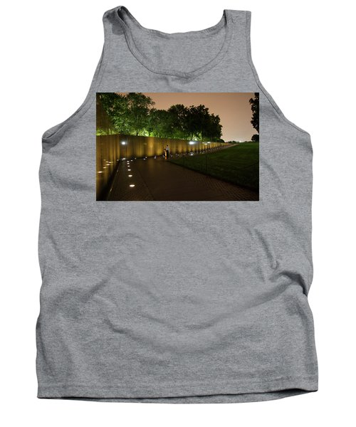Vietnam Memorial By Night Tank Top