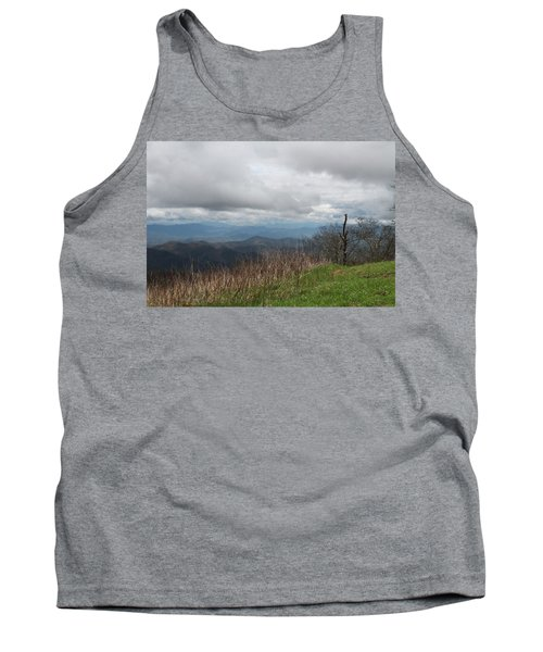 View From Silers Bald 2015e Tank Top