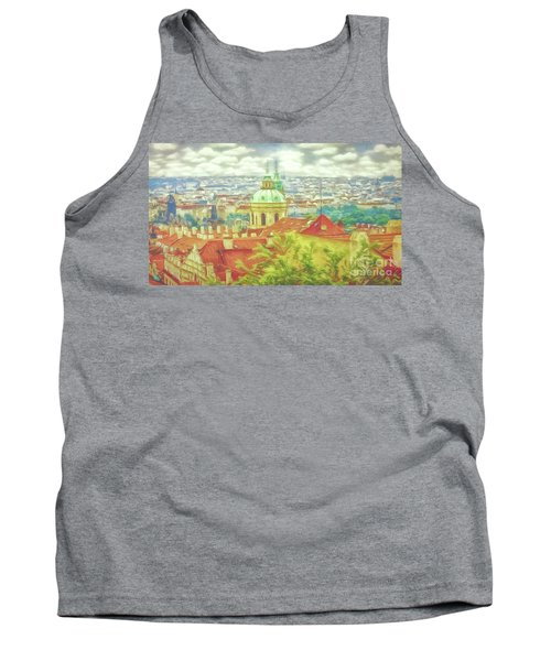 View From The High Ground - Prague  Tank Top