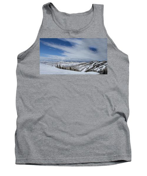 View From The Slope Tank Top