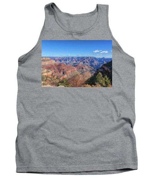 Tank Top featuring the photograph View From The South Rim by John M Bailey