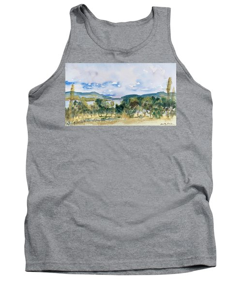 View Of D'entrecasteaux Channel From Birchs Bay, Tasmania Tank Top
