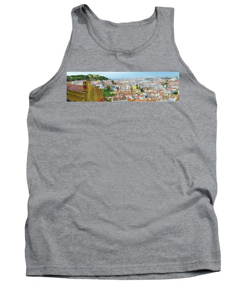 Tank Top featuring the photograph View Of Lisbon by Patricia Schaefer