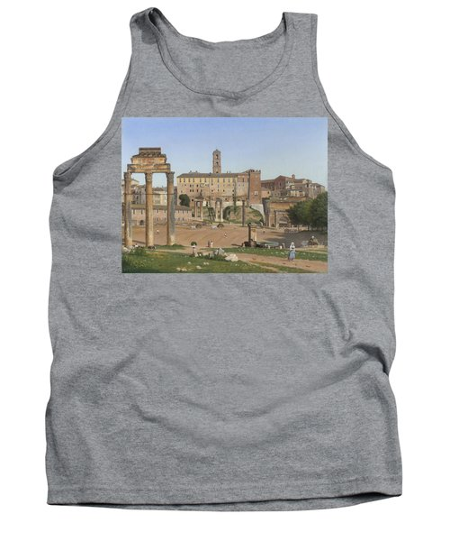 View Of The Forum In Rome Tank Top