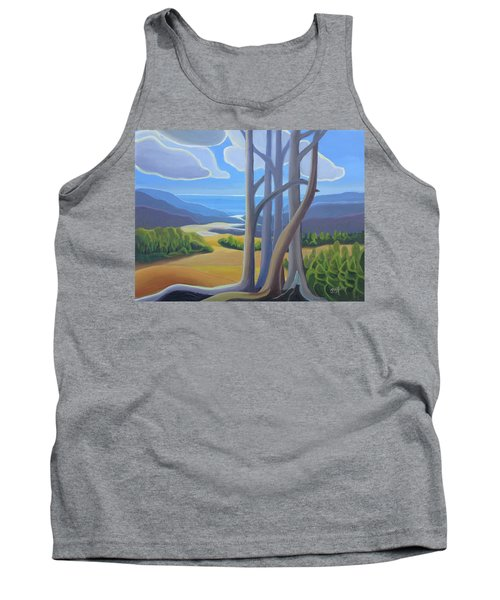 View Of The Lake Tank Top