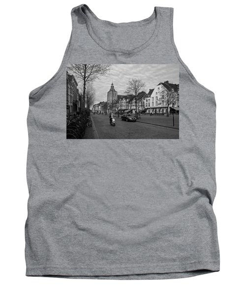 View To The Bosch Street In Maastricht Tank Top by Nop Briex