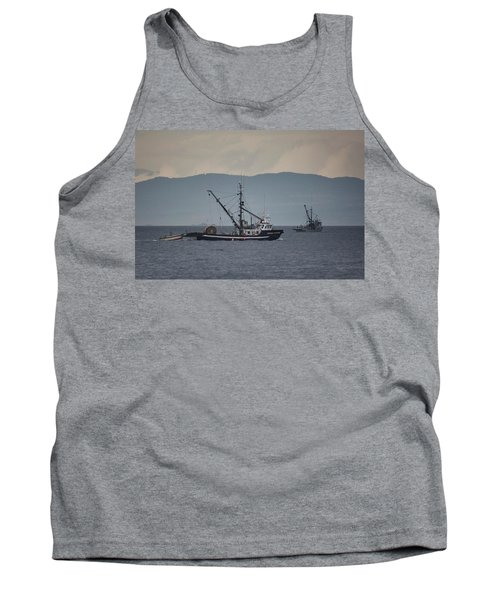 Viking Sunrise Tank Top by Randy Hall