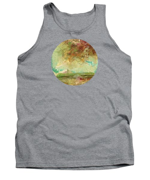 Tank Top featuring the painting Villa by Mary Wolf
