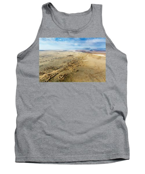 Village Toward Amu Darya River Tank Top