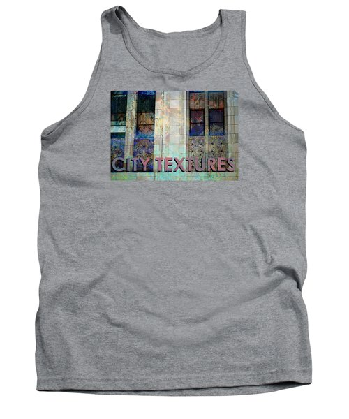 Vintage City Textures Tank Top by John Fish