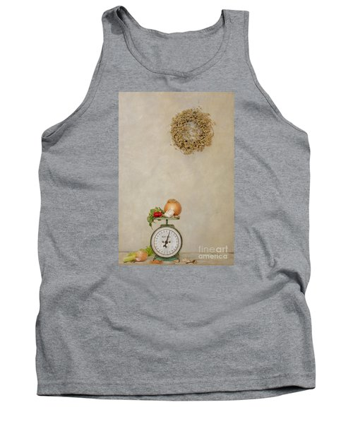 Vintage Household Scale And Vegtables Tank Top