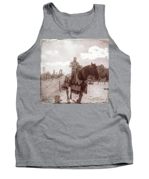 Vintage Knight Tank Top